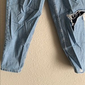 Eddie Bauer Pants - Distressed high waisted jeans